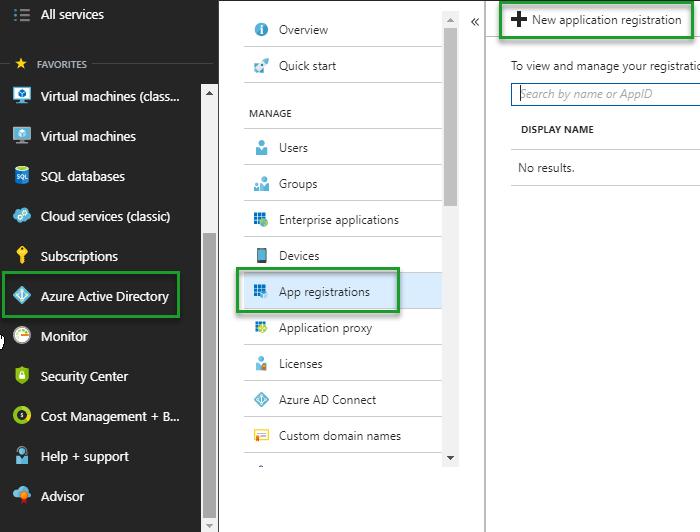Adding an Azure subscription to BizTalk360 - Azure Management