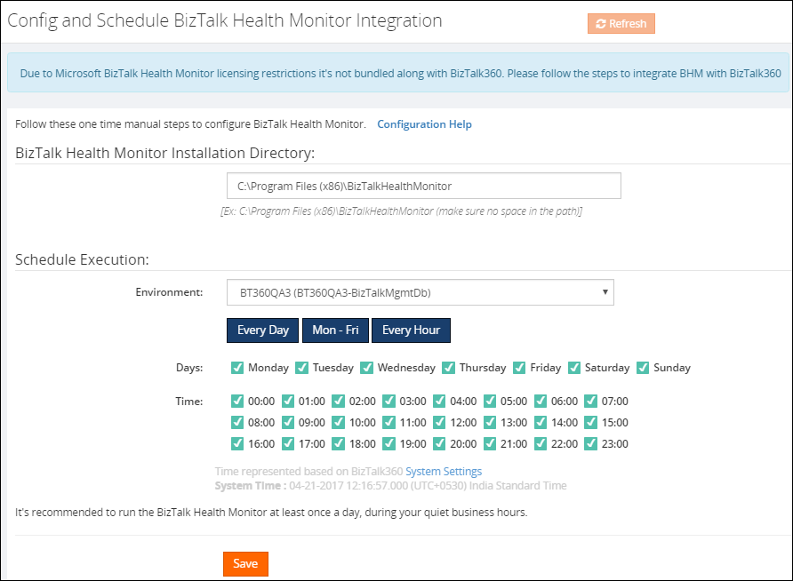 BizTalk Health Monitor - Monitoring BizTalk Artifacts