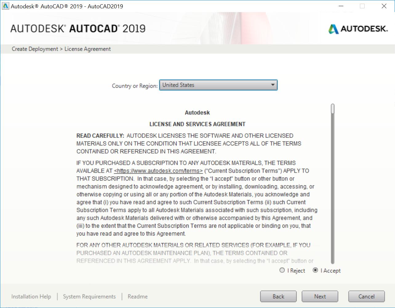 Autodesk AutoCAD 2019 - Applications