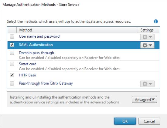 Scenario 3: StoreFront SAML integration without ADC - Citrix
