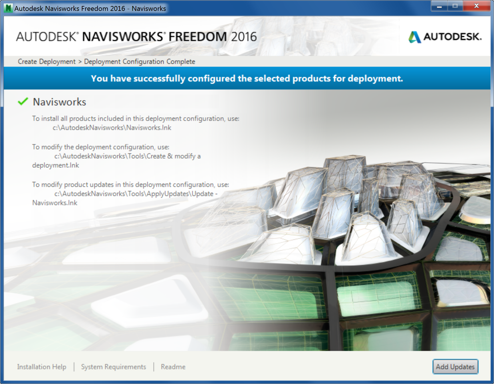 Autodesk Navisworks Freedom 2016 - Applications