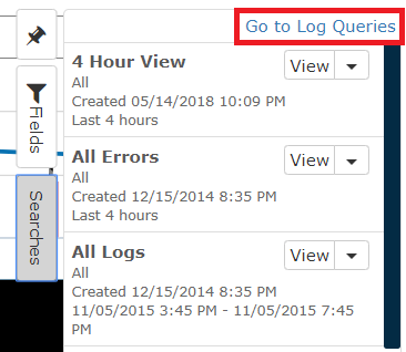 Go to Log Queries