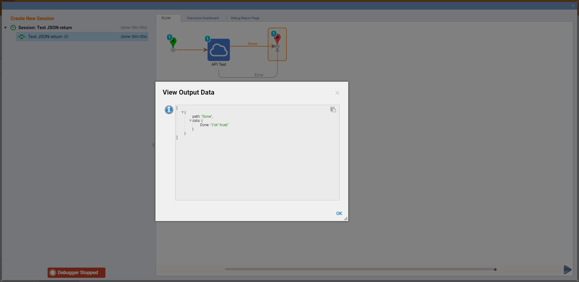 Integrating a REST Web Service That Returns JSON Data