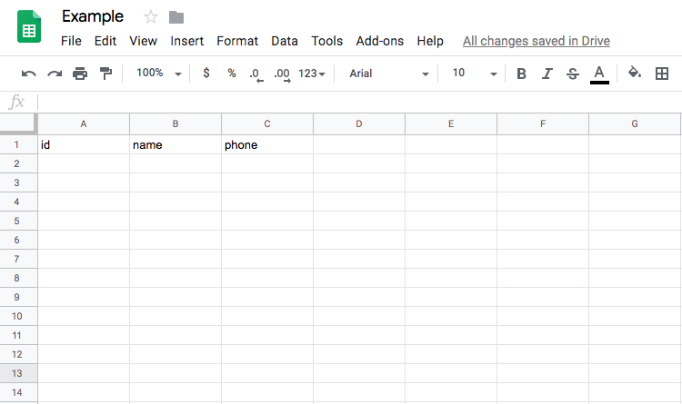 example-of-the-google-sheet