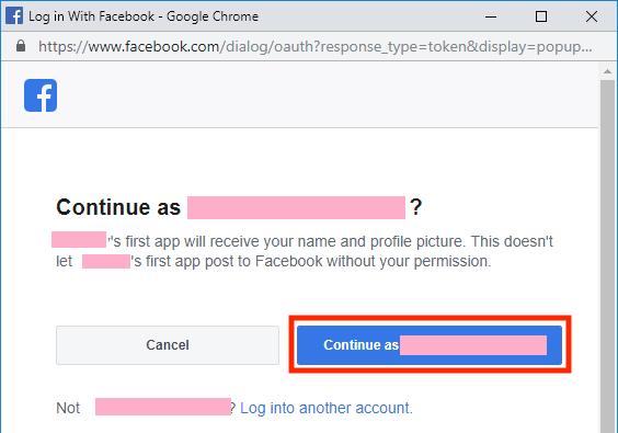 facebook-continue-as