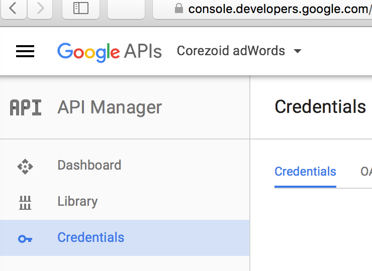 get-google-credentials