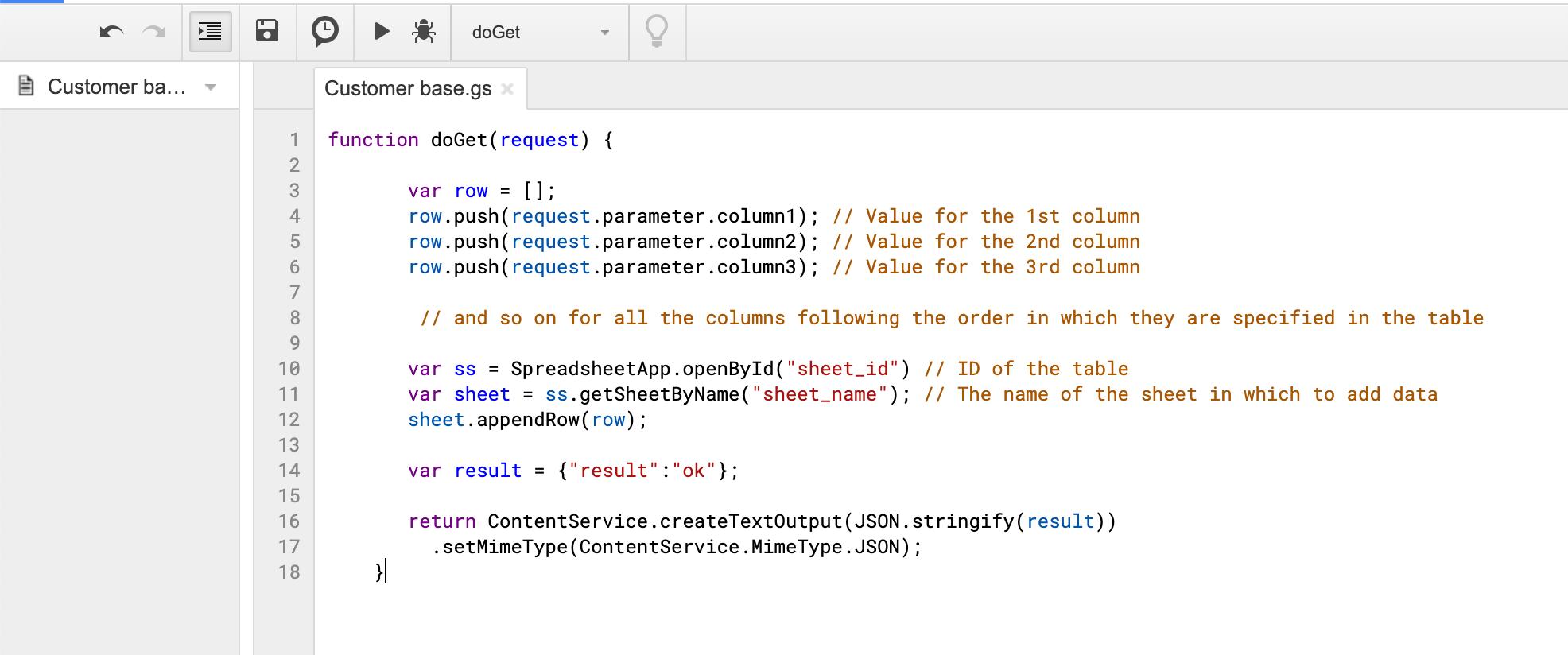 google-appscript-example