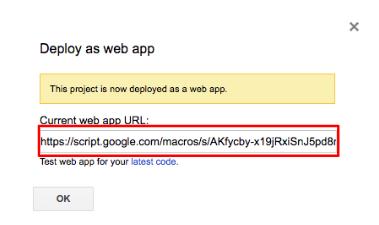 google-appscript-url