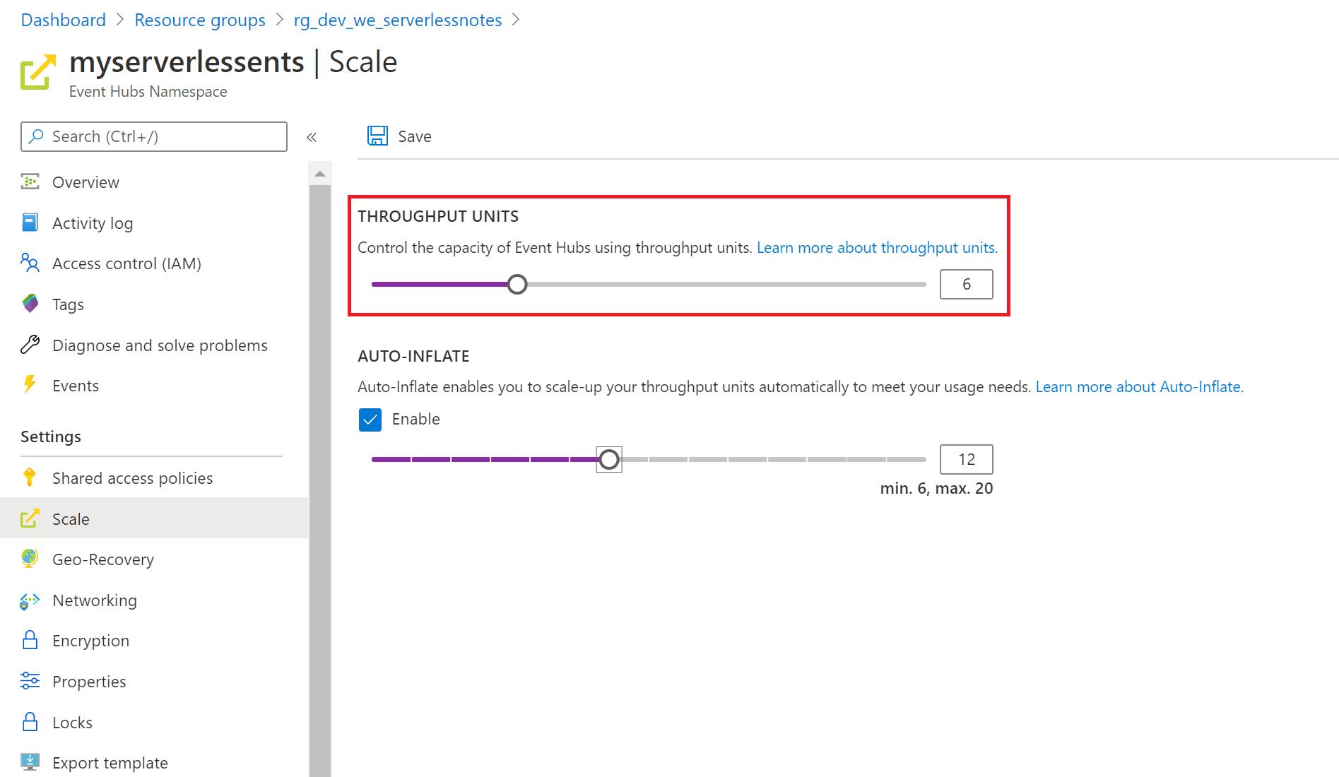Azure Event Hub Scalability